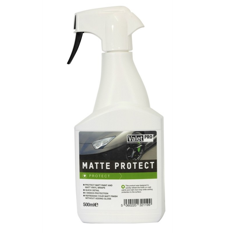 valetpro matt protect detailer 500ml autopflege. Black Bedroom Furniture Sets. Home Design Ideas